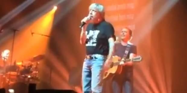 Renaud est remonté sur scène (VIDEO) - La Libre