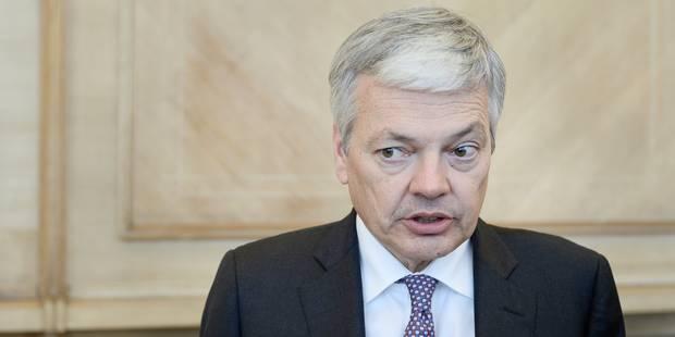Reynders défend le nouvel élan donné aux négociations d'adhésion de la Turquie à l'UE - La Libre