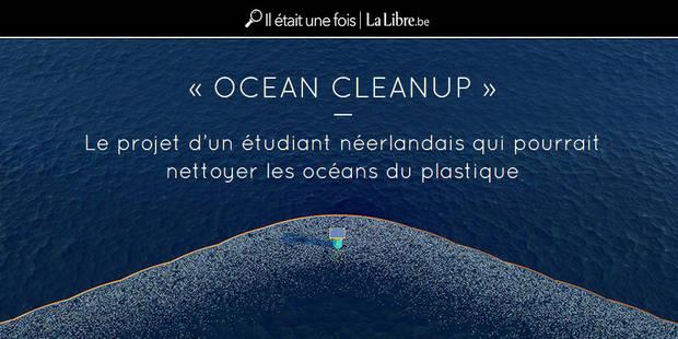"""""""Ocean Cleanup"""": le projet d'un étudiant néerlandais qui pourrait nettoyer les océans des déchets - La Libre"""