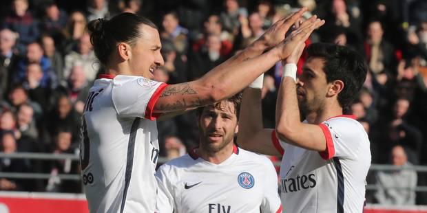 Le PSG sacré champion après une victoire... 0-9 ! - La Libre