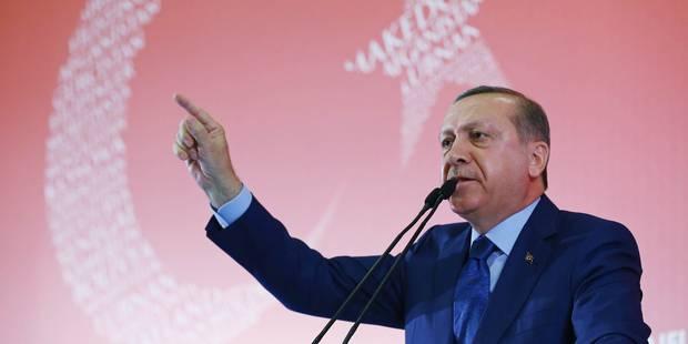 """Turquie: Erdogan relance la guerre contre les """"complices"""" du terrorisme - La Libre"""