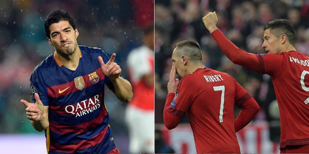 Le Barça file en quarts, le Bayern mange la Juve durant les prolongations (VIDEOS) - La Libre