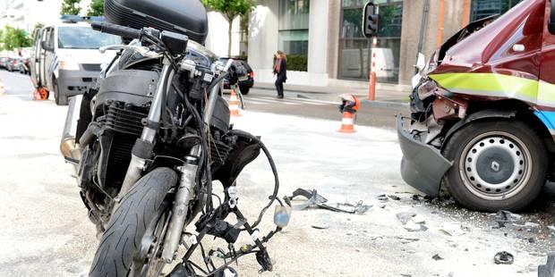 La moto plus dangereuse que la voiture - La Libre