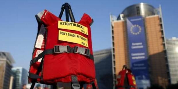 Action d'Amnesty International à l'ouverture du sommet UE-Turquie - La Libre