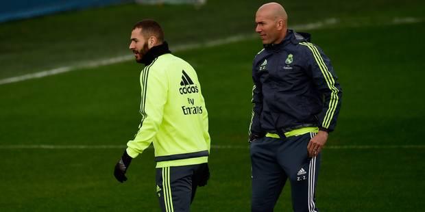Sex-tape: Benzema doit se concentrer sur le football, juge Zidane - La Libre