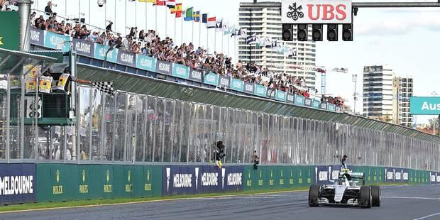 Nico Rosberg remporte le Grand Prix d'Australie, accident entre Alonso et Gutierrez - La Libre