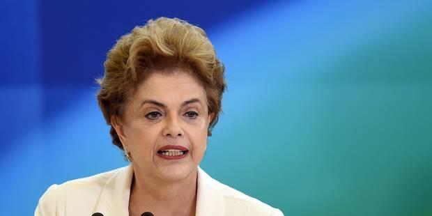 Brésil: Dilma Rousseff joue son avenir au Parlement, Lula contre-attaque - La Libre