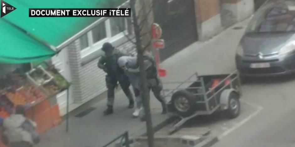 Nouvelle vidéo de l'arrestation de Salah Abdeslam