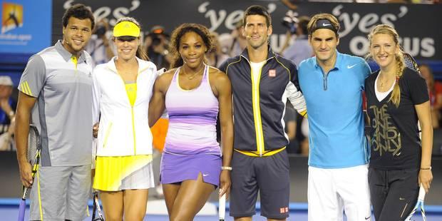 Pour Novak Djokovic, les joueurs devraient gagner plus que les joueuses - La Libre
