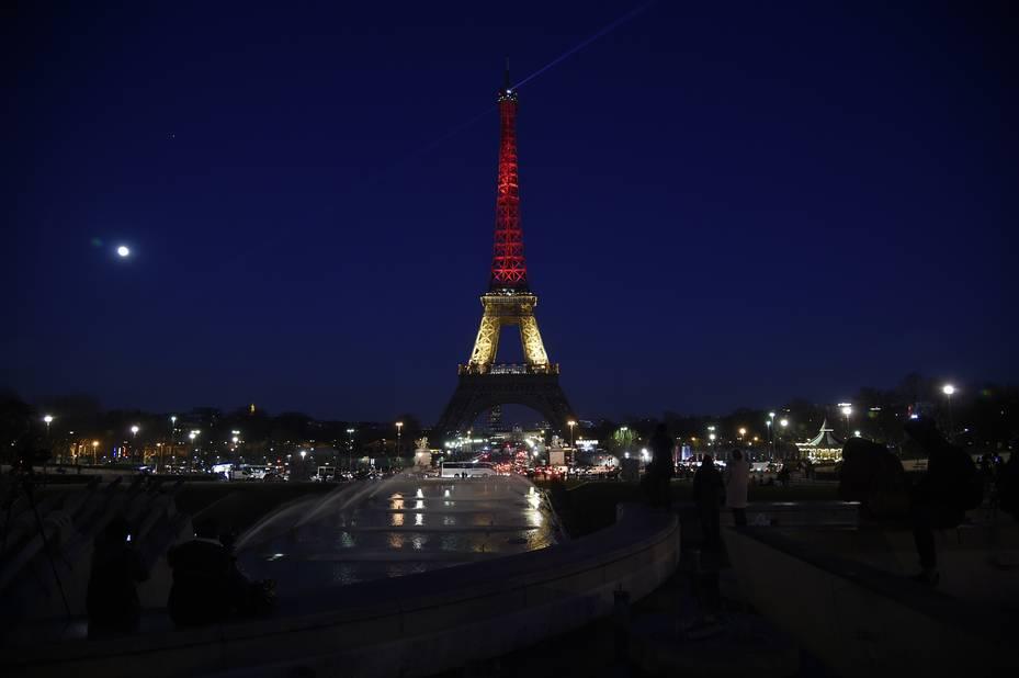Paris, la Tour Eiffel.