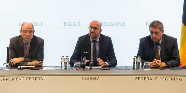 Charles Michel a refusé les démissions des ministres Koen Geens et Jan Jambon - La Libre