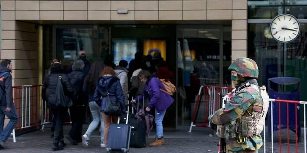 Attentats: fin des contrôles systématiques dans les gares de Bruxelles et reprise du métro - La Libre