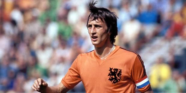 """Décès de Johan Cruyff: L'hommage du peuple oranje au """"footballeur total"""" - La Libre"""