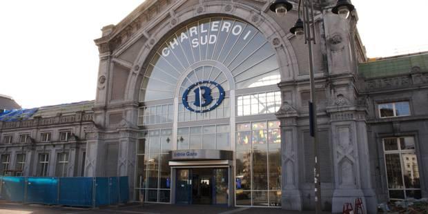 La gare de Charleroi Sud évacuée vendredi soir en raison d'une fausse alerte à la bombe - La Libre