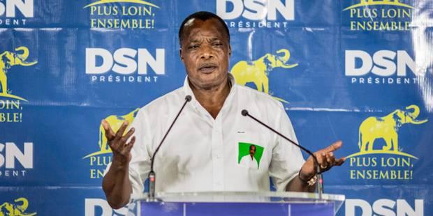Congo-Brazzaville: quatre candidats appellent à contester la réélection de Sassou - La Libre