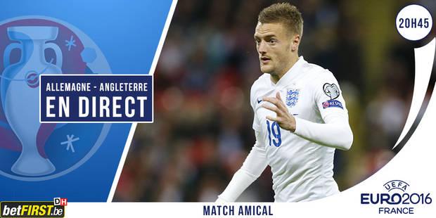 L'Angleterre dompte l'Allemagne dans les dernières secondes (2-3) - La Libre