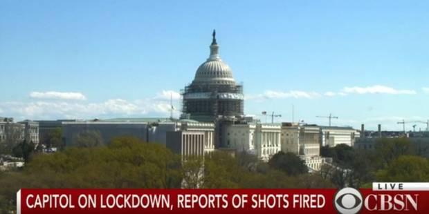 USA: un suspect en garde à vue après des coups de feu au Capitole - La Libre