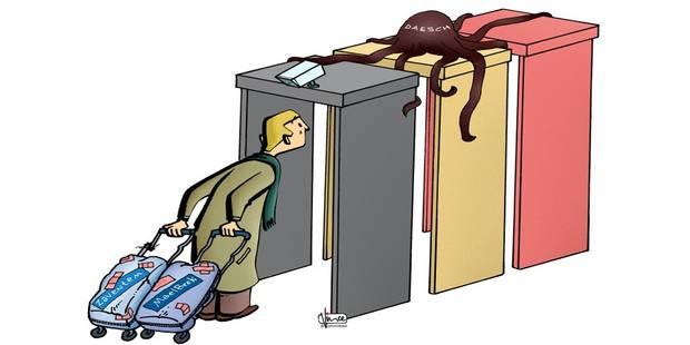 Gares, métros ou écoles, il faudra s'équiper de portiques de sécurité - La Libre