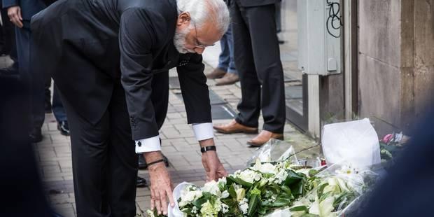 Le Premier ministre indien dépose une gerbe à la station Maelbeek - La Libre