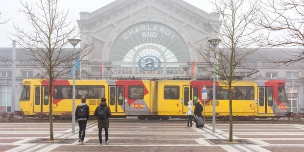 La gare de Charleroi-Sud évacuée : fausse alerte à la bombe - La Libre