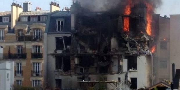 Explosion due au gaz au centre de Paris: 17 blessés dont un grave (VIDEO) - La Libre