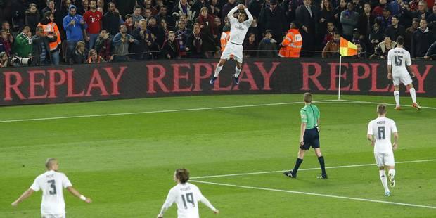 Ronaldo et le Real remportent le Clasico et gâchent l'hommage à Cruyff (VIDEOS) - La Libre