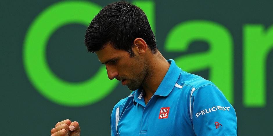 Miami: Djokovic sacré pour la 3e année de suite