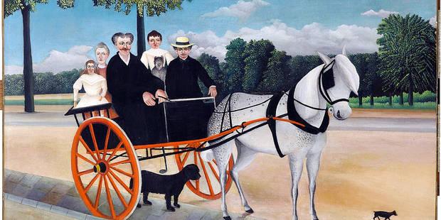 Orsay expose les flamboyances du Douanier Rousseau - La Libre