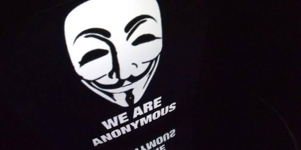Israël en état d'alerte pour contrer les cyber-attaques d'Anonymous - La Libre