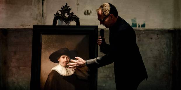 """Un ordinateur peint le """"prochain Rembrandt"""" après l'analyse du style de l'artiste (VIDEO) - La Libre"""