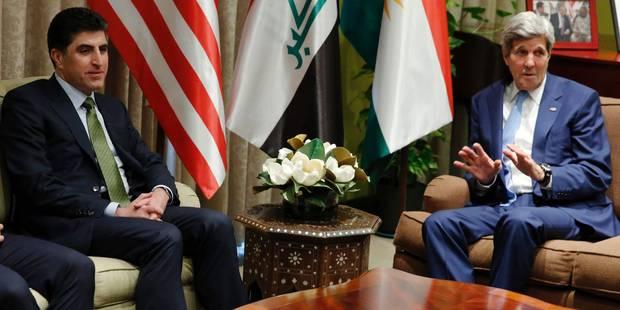 Kerry à Bagdad pour soutenir l'Irak contre l'EI - La Libre