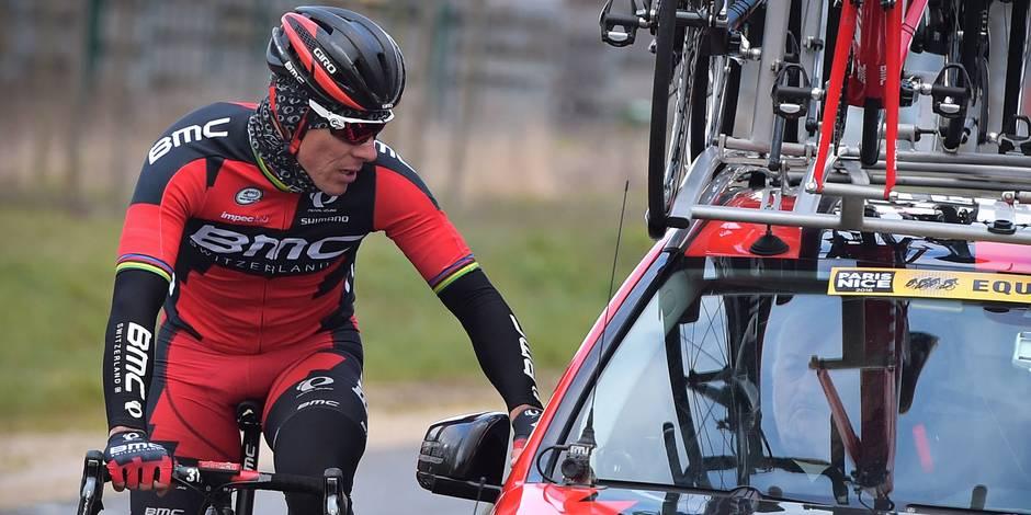Ivres, deux chauffards agressent Philippe Gilbert: le coureur s'est fracturé un doigt