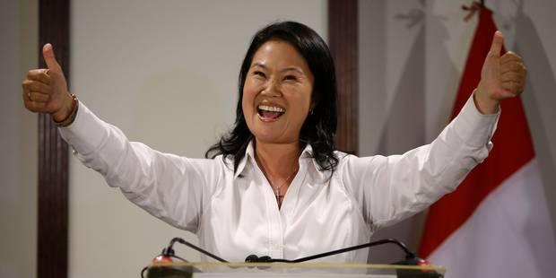 Dans un Pérou divisé, Keiko Fujimori au second tour de la présidentielle - La Libre