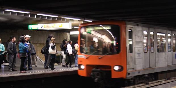 Le métro bruxellois remis (presque) totalement en service - La Libre