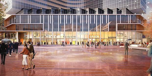 Bruxelles-Ville: un nouveau centre commercial sur le piétonnier - La Libre