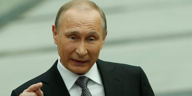 Panama Papers: Vladimir Poutine a officiellement gagné 118.200 euros en 2015 - La Libre