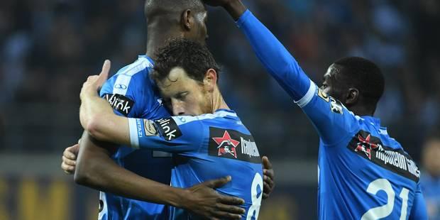 La Gantoise reprend un peu des couleurs face à Ostende (2-0) - La Libre