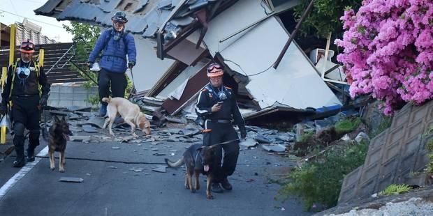 Japon: 23 morts dans un nouveau séisme, des habitants pris au piège - La Libre