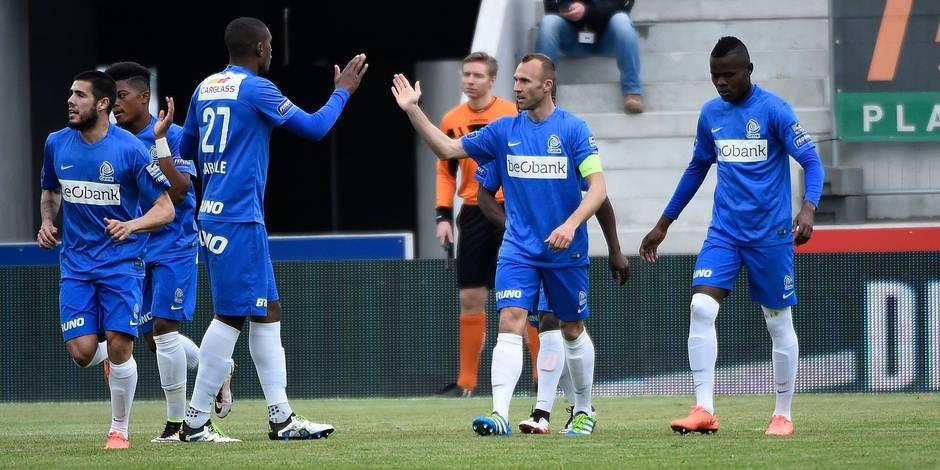 Genk s'impose 1-2 à Zulte Waregem et conforte sa 4e place
