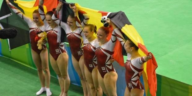 L équipe féminine belge de gymnastique artistique participera aux Jeux  Olympiques - La Libre 45d59526b96