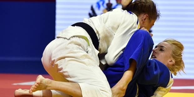 Charline Van Snick est championne d'Europe - La Libre