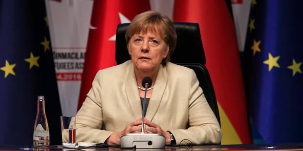 Angela Merkel en Turquie: une visite éclair pour convaincre les Européens - La Libre