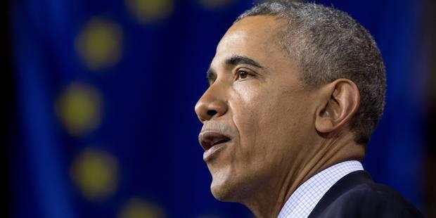 """Barack Obama : """"Le monde a besoin d'une Europe forte et unie"""" - La Libre"""