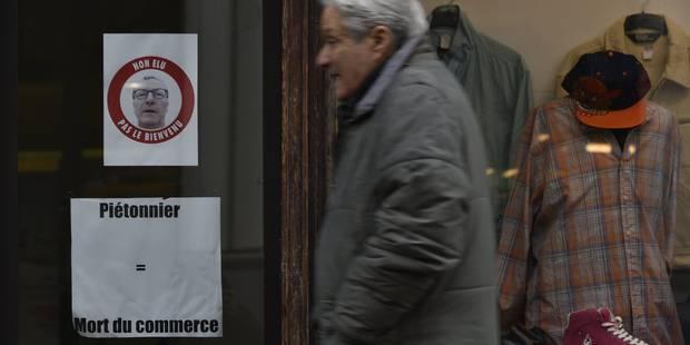 Mayeur demande que la Région se positionne sur la taille du piétonnier - La Libre