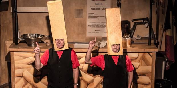 Au Théâtre de Liège, une saison d'échelles et de passerelles - La Libre