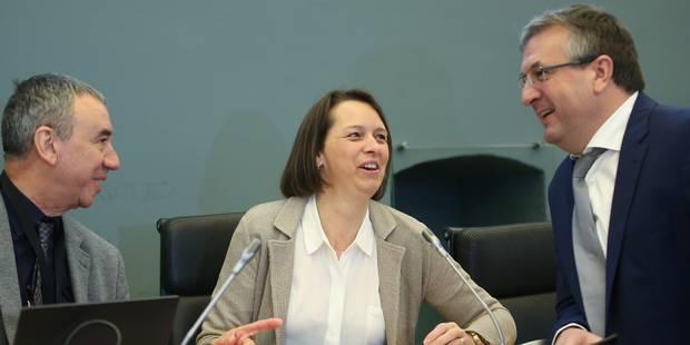 Parlement wallon: Warzée et Stommen suppléent, Galant présidente de commission - La Libre