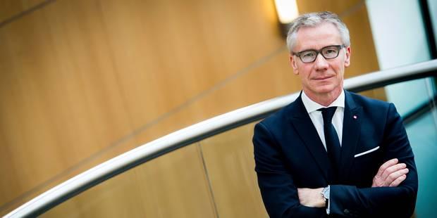 """Avenir de Belfius: le CEO Marc Raisière loue la """"grande sérénité"""" dans les relations avec l'Etat - La Libre"""