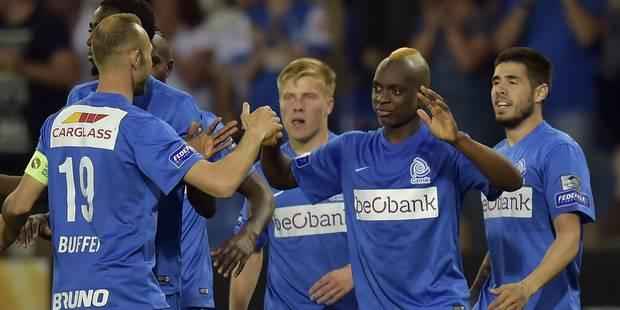 Genk bat Zulte Waregem et enfonce le club dans ces PO1 (2-0) - La Libre