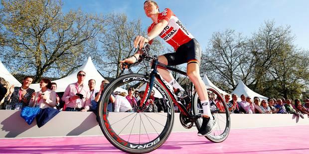 "Tim Wellens : ""J'aime le Giro"" - La Libre"