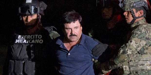 Transfert surprise d'El Chapo dans une autre prison du Mexique - La Libre